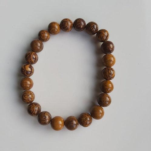 Bracelet Jaspe Peau de serpent