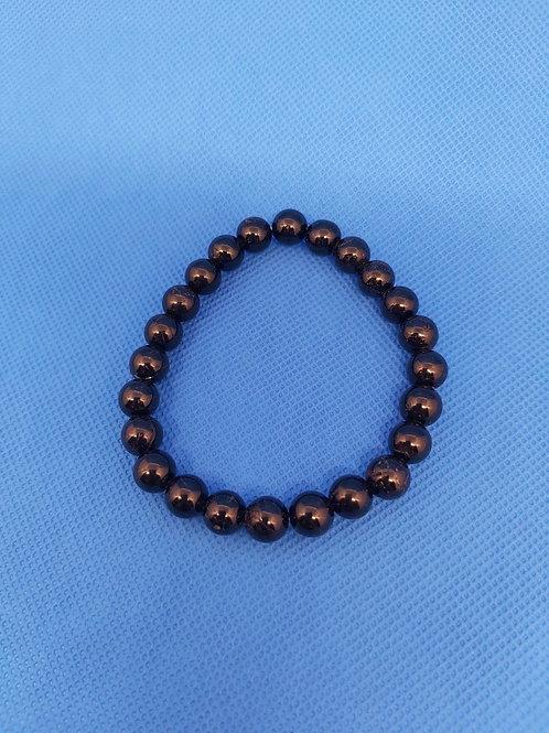 Bracelet en Tourmaline noire
