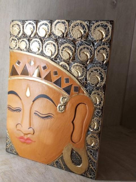Boîte Bouddha en bois