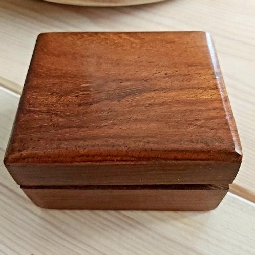 Boîte à pendule en bois