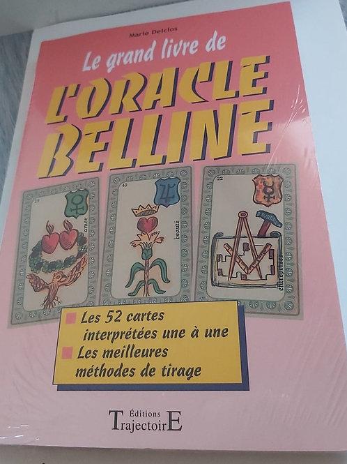 Le grand livre de l'Oracle Belline - 52 cartes + les méthodes de tirage
