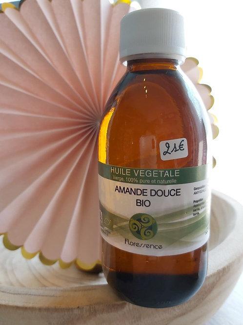 Huile végétale d'Amande douce BIO 200 ml