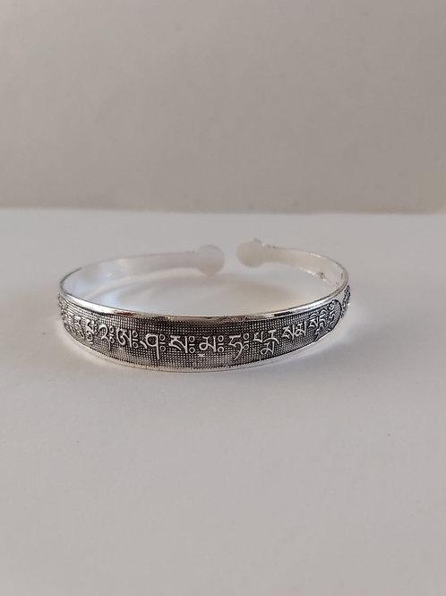 Bracelet Miao avec mantra OMPH