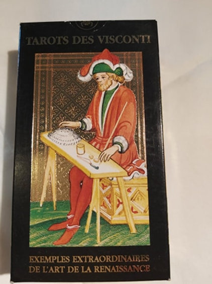 Tarot doré Visconti