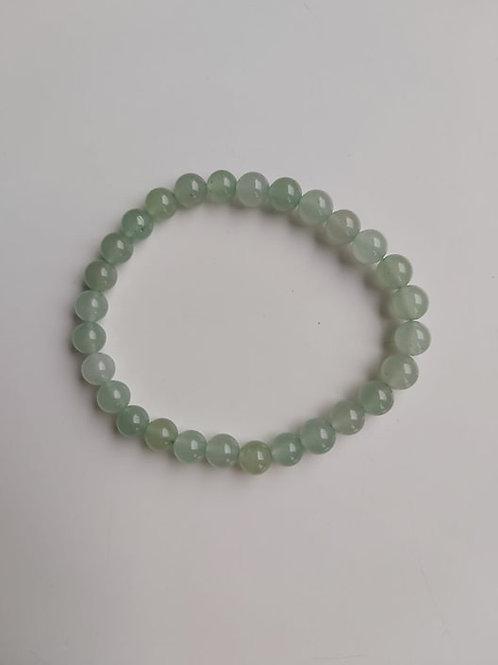 Bracelet en Aventurine verte - Diamètre 6 mm