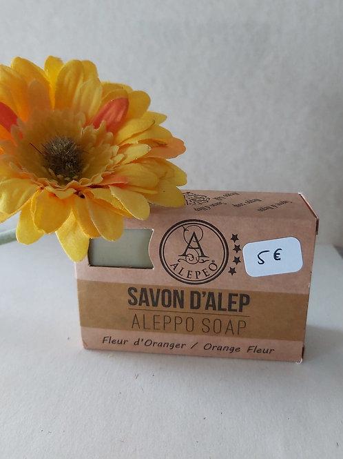 Savon d'Alep aux fleurs d'oranger 100 g