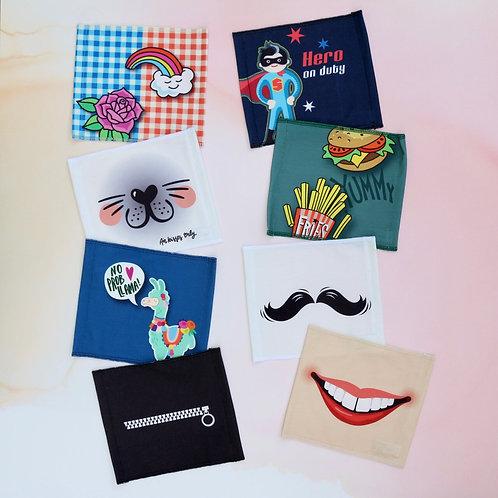 """Mund-Nasen-Maske """"Fun"""" für Erwachsene"""