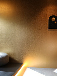 温泉旅館の一室をデザイン