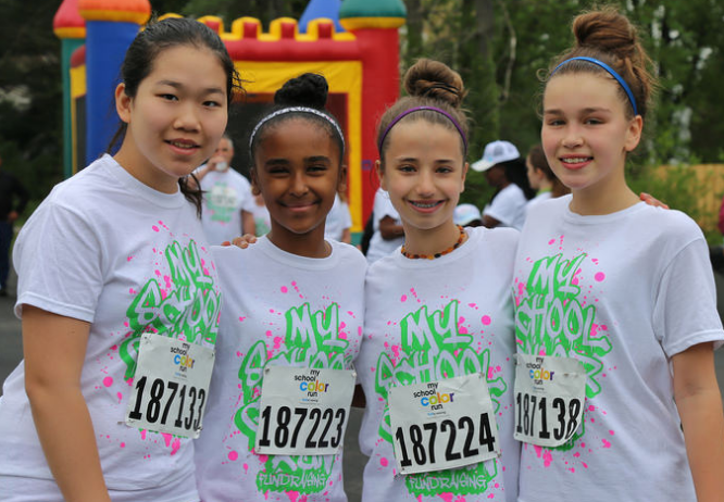 color run lady runners