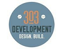 303 development logo and website link