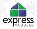 express modular logo and website link