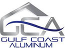 Gulf Coast Aluminum logo and website link
