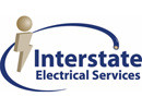 Interstate Electrical Services logo and website link