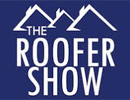 The Roofer Show logo and website link