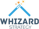 Whizard Strategy logo and website link