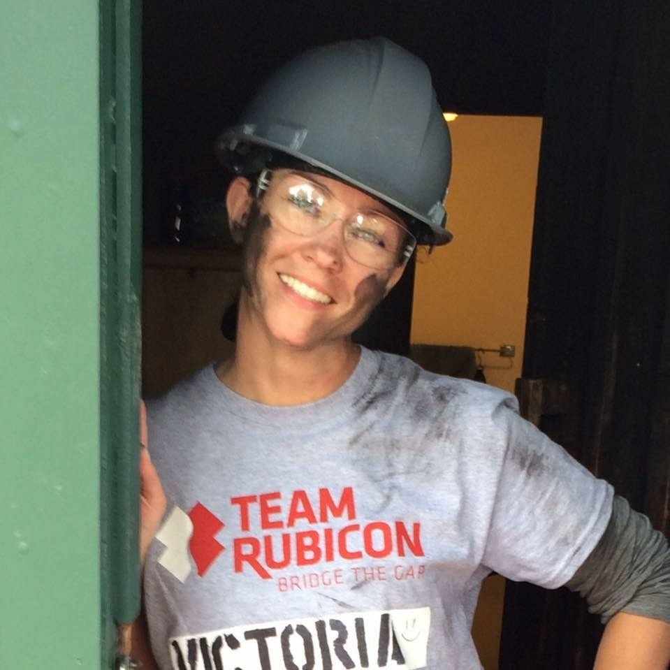 Volunteering with Team Rubicon at Buckhorn Camp