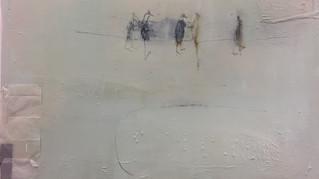 Birds on telegraph line