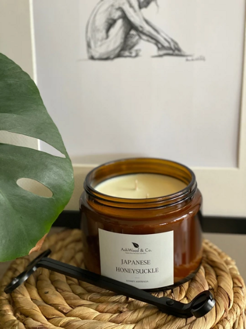 Japanese Honeysuckle Soy Candle/Diffuser