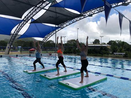 SUP yoga/fitness beginners workshop??