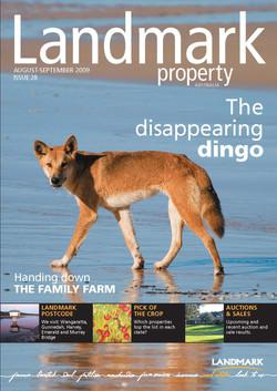 Front Cover- Landmark Magazine