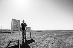 At the dingo fence (Coober Pedy)