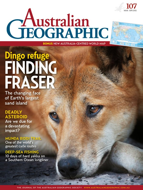 Front Cover- Australian Geographic