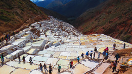 Ancient Salt Mines of Maras