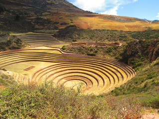 THE ENIGMATIC INCA RUINS OF MORAY, An Inward Journey of the Senses