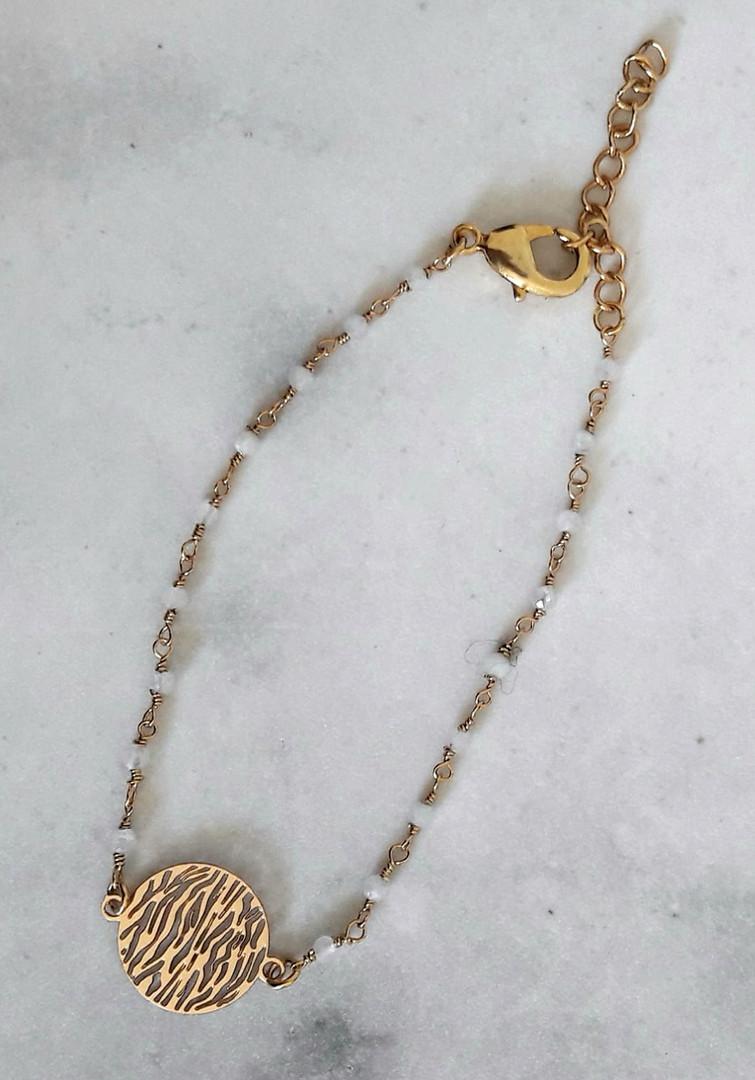 Bracelet Rosaire et doré