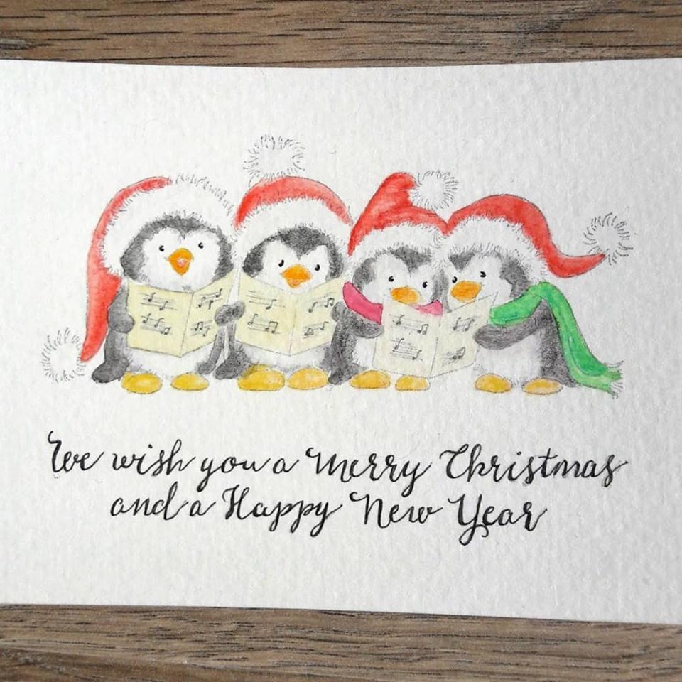 Christmas Carol - Penguins
