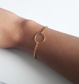 Bracelet Anneau diamanté