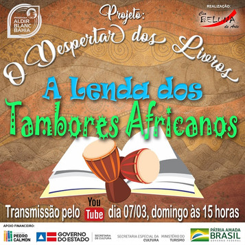 CONTACAO - EDICAO 3 - A LENDA DOS TAMBOR