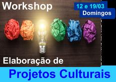 WORKSHOP ELABORAÇÃO DE PROJETOS