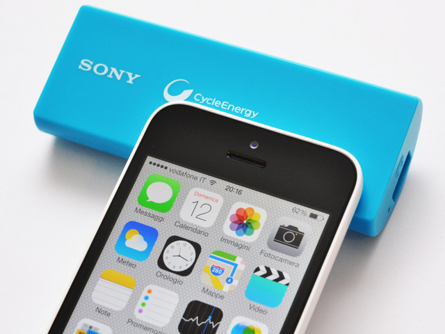 iPhone & Sony battery charger