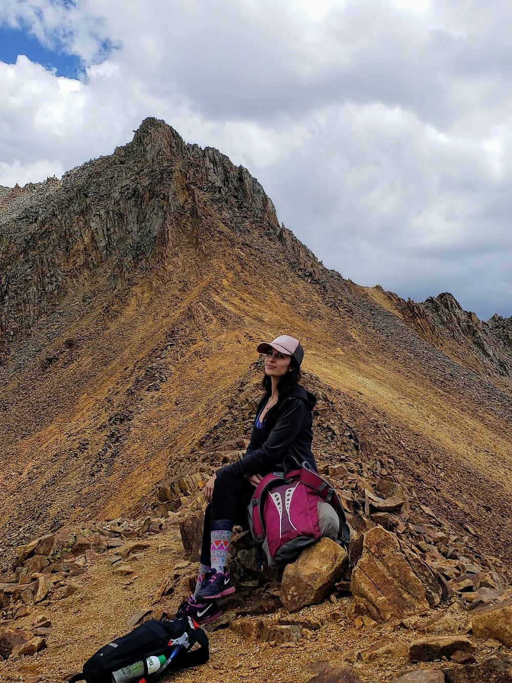 mountain Ridge line