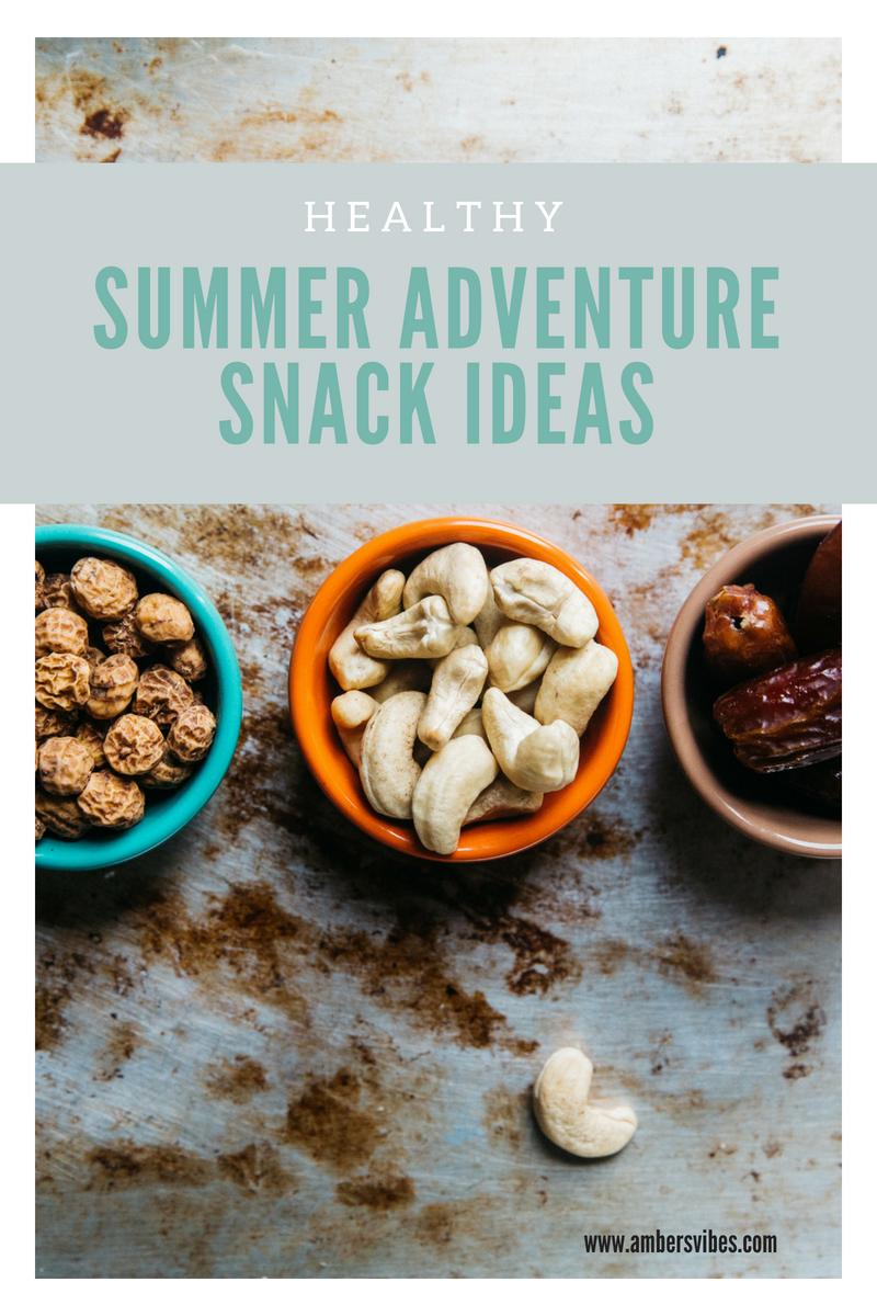 summer vacation snacks