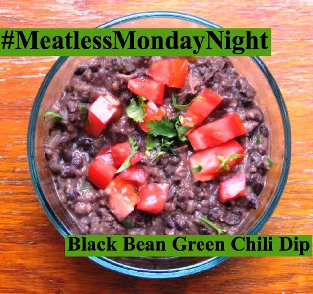 Meatless Monday Night Black Bean Dip