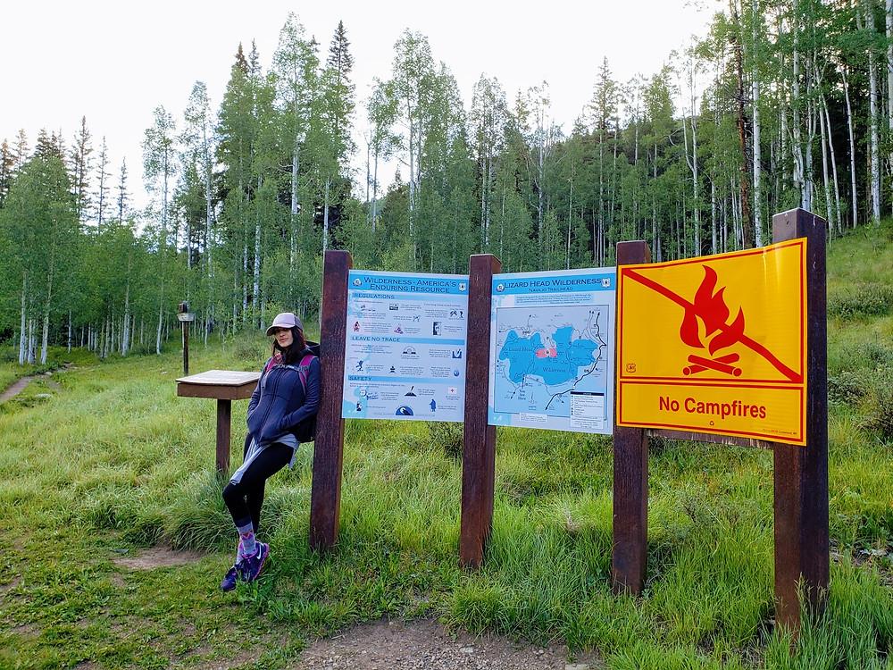 Lizardhead wilderness