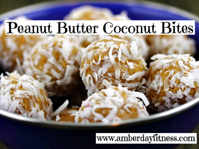 Peanut Butter Coconut Bites