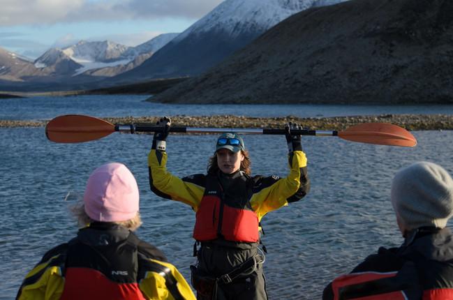 Instructions for Kayaking in Barentsburg