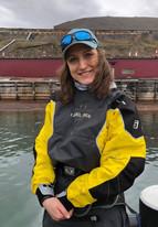 Kayaking instructor