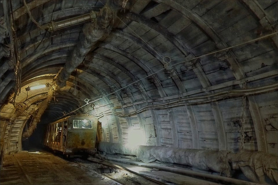 Tour to the Mine, Barentsburg