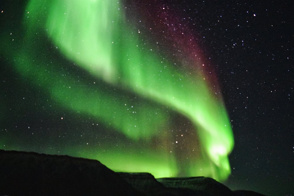 Northern Lights on Svalbard