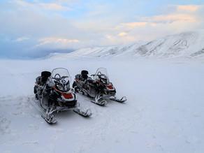 Если вам не хватает снега и нормальной зимы, то надо лететь в Арктику