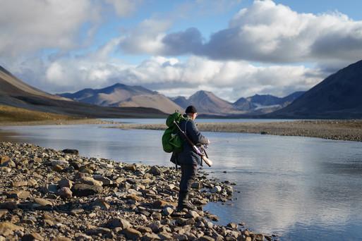 Fishing in Barentsburg