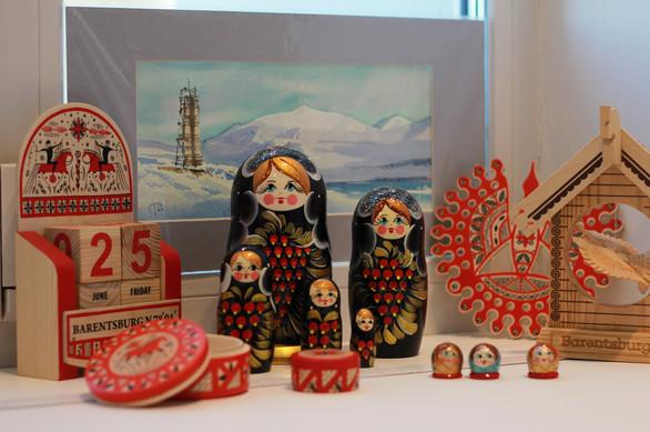 Barentsburg Souvenir shop
