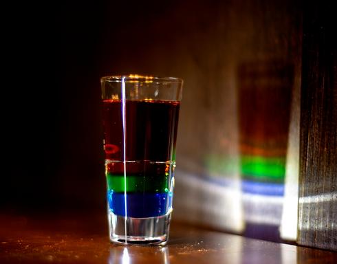 78° LATITUDE Shot, Red Bear Bar