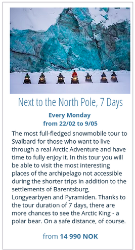 Next to the North Pole