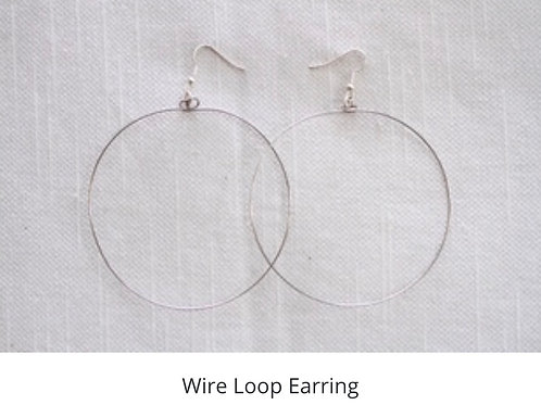 Wire Loop Earrings