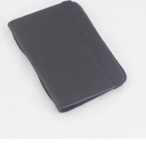 Passport Covers - Sheepskin Black